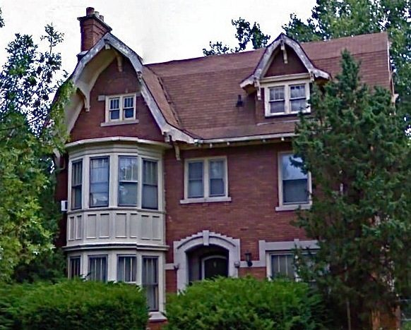 Heidi Peterson's house in the historic neighborhood of Boston Edison