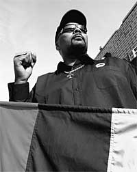 Minister Malik Shabazz of the New Black Panther Nation/New Marcus Garvey Movement