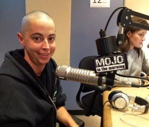 Kelly Parker when she was Mojo In The Morning last October.