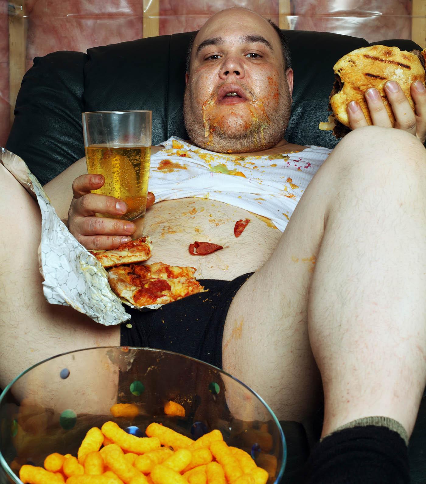 Guy Getting Fat 46