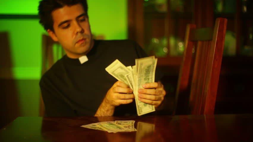 Thieving Michigan Priest