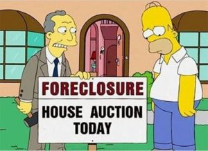 residential foreclosure rates