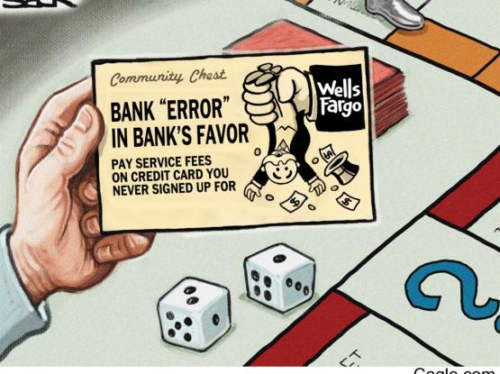 Embattled Wells Fargo Bank