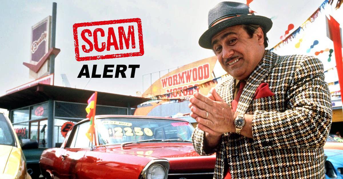 Buick Dealer Scam
